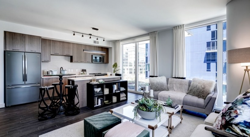 Modern, open kitchens