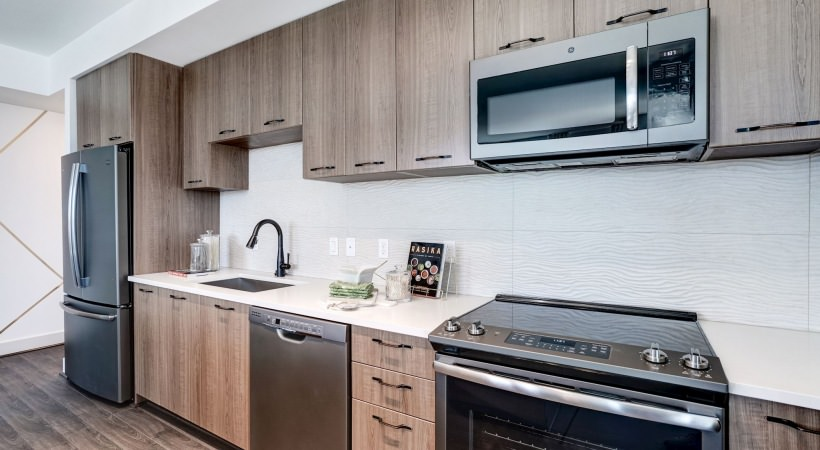 GE® slate finish appliance packages
