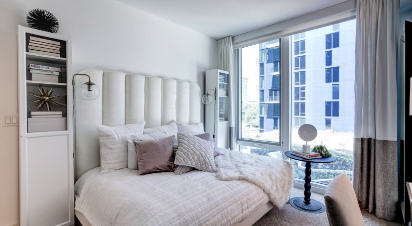 Bright airy bedrooms